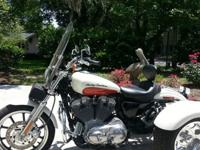 2011 Harley Davidson Sportster Trike with only 847