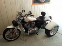 Beautiful 2011 Harley Davidson Sportster Trike with