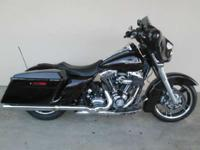2011 Harley-Davidson Street Glide 1 YEAR ON WARRANTY-