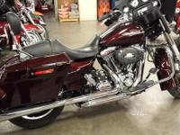 Also brand-new for the Harley Street Glide is a Power