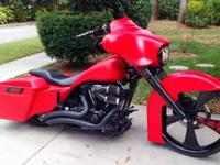 I am selling my 2011 custom bagger.  It was built by