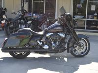 This is a super clean 2011 Harley Davidson FLHX Street