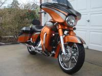 The 2011 Street Glide in Black Diamond and Inferno