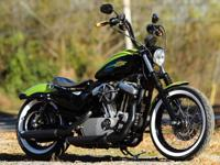 2011 Harley Davidson 1200 Nightster. This bike was