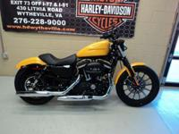 The 2011 Harley-Davidson Sportster Iron 833 XL883N is