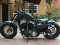 2011 Harley Sportster 48 1200 CC ... Bike was modified