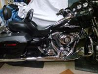 2011 Haley Street Glide FLHX- 8400 miles. Bike is