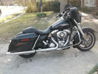 this 2011 Harley Streetglide has only 12,441 miles on