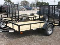 2011 Haul it: 6.5x10 Landscape trailer for sale, Call