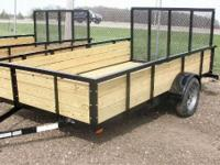 2011 Haul It: 6.5x12 Utility trailer for sale, Call