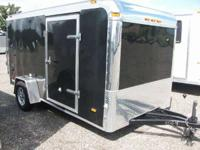 Single Axle Motorcycle Trailer Loaded 2010 Haul-It Low