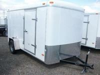 6x12 Single Axle Enclosed Trailer 2011 Haul-It 6x12