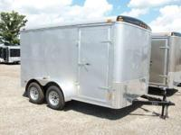7x12 Tandem Axle Enclosed Trailer 2011 Haul-It Enclosed