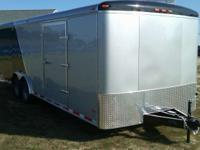 Two Tone Tandem Axle Enclosed Car Hauler 2011 Haul-It