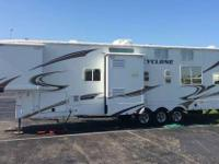 2011 Heartland Cyclone M3850TS. Costs to offer $35500