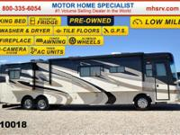 This Luxury Diesel RV determines roughly 44 feet. the