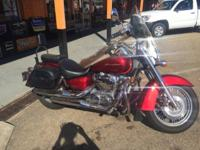 We are offering a 2011 Honda 750 Aero. This bike only
