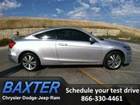 2011 Honda Accord 2dr Car LX-S Our Location is: Baxter