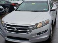 CARFAX One-Owner. Silver 2011 Honda Accord Crosstour