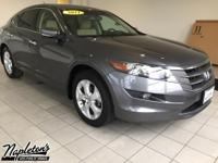 Recent Arrival! 2011 Honda Accord Crosstour in Gray.