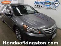 Honda Certified. A good deal in Kingston! Wow! What a