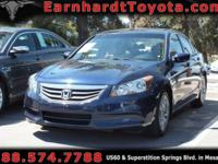 We are delighted to offer you this 2011 Honda Accord