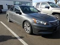2011 Honda Accord EX-L Gray 2.4L I4 DOHC i-VTEC 16V