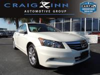 CarFax 1-Owner, This 2011 Honda Accord EX-L will sell