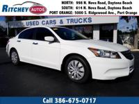 LOCALLY OWNED 2011 HONDA ACCORD SDN LX**CLEAN CAR