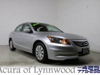 2011 Honda Accord LX Super Low Miles Silver Bullet!