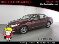 Options:  2011 Honda Accord Lx-P|Lx-P 4Dr Sedan|2011