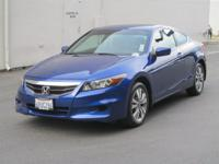 NEW ARRIVAL! THIS Accord Cpe WILL SELL FAST! -Low