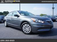 2011 Honda Accord LX 4 DOOR 4-Cyl, VTEC, 2.4 Liter, ABS