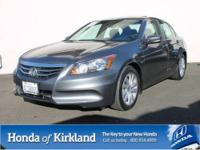 2011 HONDA ACCORD SEDAN 4 DOOR EX Automatic Sedan Our