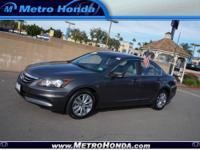 2011 HONDA ACCORD SEDAN 4 DOOR EX-L Automatic Sedan Our