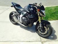 2011 Honda CB-1000RR. Nice bike in excellent condition.