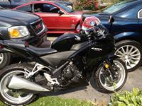 This is a brand new 2011 Honda CBR 250cc motorcycle. I