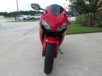 We have our 2011 Honda CBR1000RR with only 6,313 miles