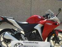 2011 Honda CBR250R Special Financing Program Over 500