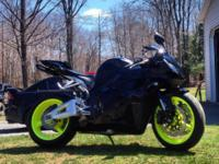 For Sale: 2011 Honda cbr600rr 6200 miles. Purchased as