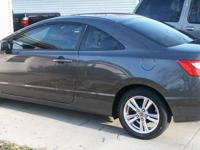 2011 Honda Civic 2 Door Coupe LX - Machine Metal Gray -
