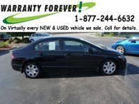 2011 Honda Civic 4 Dr Sedan LX Our Location is: Roper