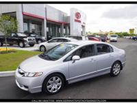 Civic LX, Clean Carfax, One Owner, Locally Owned, Low
