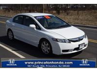 CARFAX One-Owner. Clean CARFAX. White 2011 Honda Civic