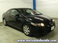 New Price! 2011 Honda Civic LX Black Awards: * JD Power
