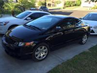 2011 honda civic coupe. 83k miles. 26 mpg city and 35