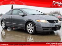 New Price! Carfax One Owner, Civic LX, Compact 5-Speed