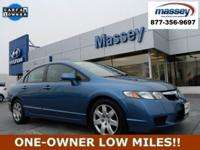 CARFAX One-Owner. Clean CARFAX. 2011 Honda Civic LX FWD