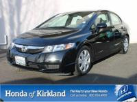 2011 HONDA CIVIC SEDAN 4 DOOR LX Automatic Sedan Our