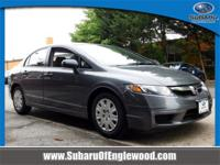 CARFAX One-Owner. Clean CARFAX. 2011 Honda Civic VP FWD